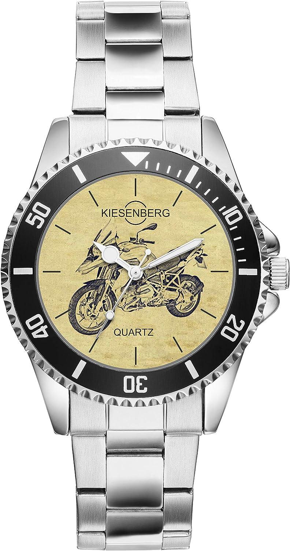 KIESENBERG Reloj - Regalos para BMW R1200GS Motocicleta Fan 20414