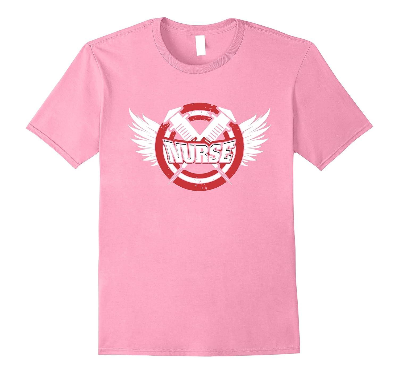 16dab6502 Nurse T-Shirt – Captain Nurse Superhero – Gift for Nursing-CD – Canditee