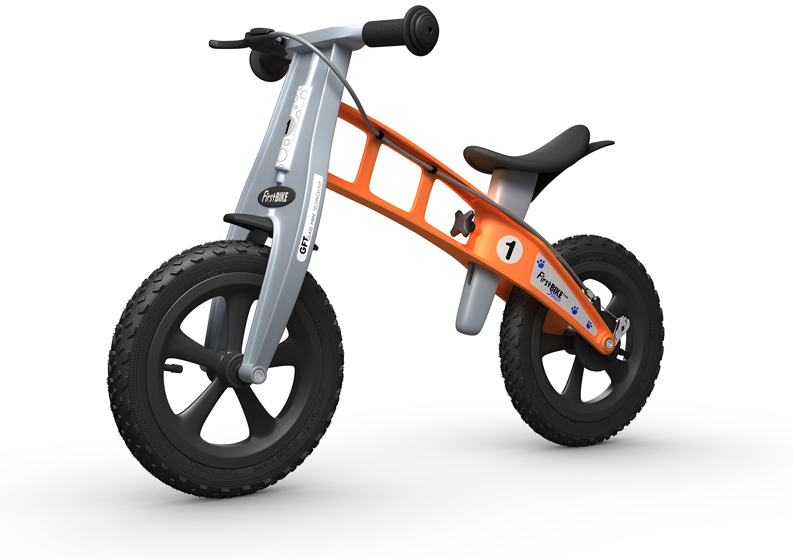 FirstBIKE Cross Balance Bike, Orange by FirstBIKE