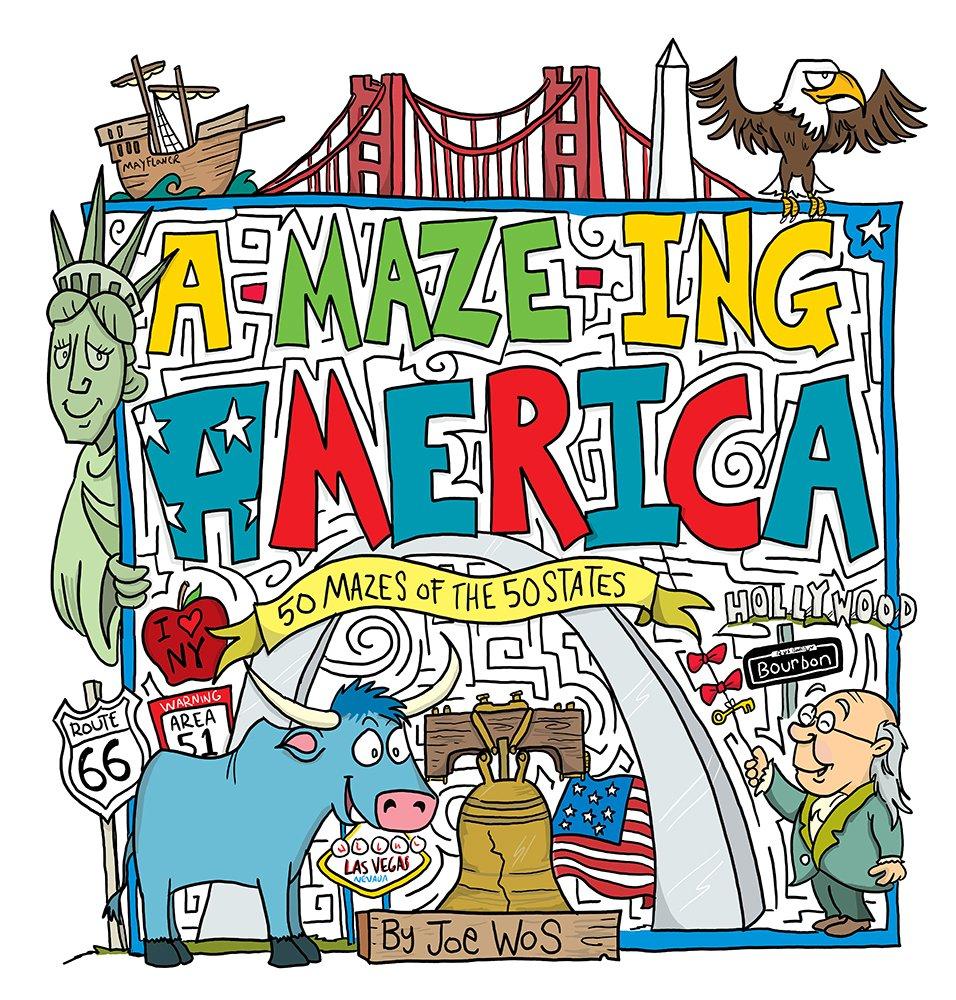 A-MAZE-ING America: 50 Mazes of the 50 States pdf epub