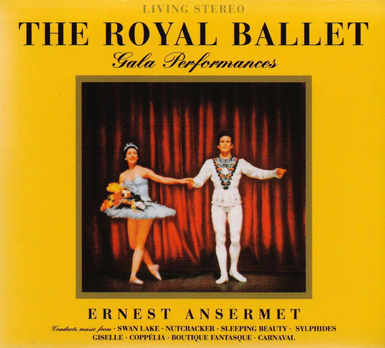 Ernest Ansermet The Royal Ballet Gala Performances
