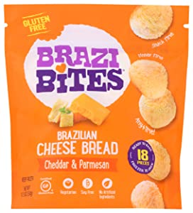 Brazi Bites Brazilian Cheese Bread, Original, 11.5 oz (Frozen)
