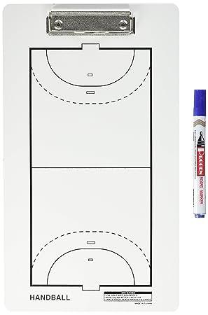 Softee 0004653 Tablero de tácticas de fútbol Sala/Balonmano, Unisex Adulto, Blanco/Negro, Talla Única