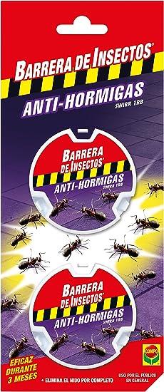 Compo Repelente Barrera de Insectos Cebo antihormigas, Control de Hormigas en el salón, Comedor y terraza, 2 Unidades de 10 g: Amazon.es: Jardín