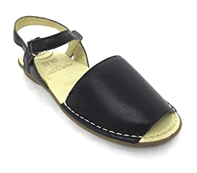 Zerimar Leder Sandalen Damen   Sandalen Damen Sommer   Sandalen Espadrilles  Damen   Farbe  Marine c04bd111d1
