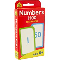 School Zone Numbers 1-100 Flash Cards (new cover)