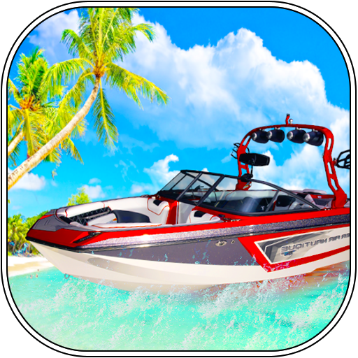 (Beach Boat Racing and Water Taxi Simulator 2017 3D)