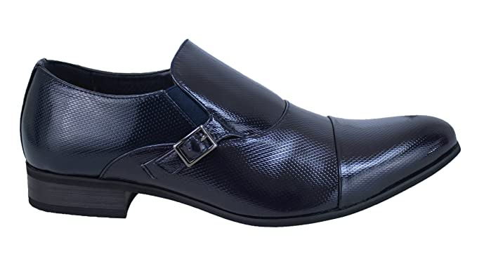 Scarpe uomo class blu vernice linea classica man's scarpe eleganti cerimonia (41) Sneakernews Venta Barata Sast En Venta Venta De Separación Caliente Mejor Línea Barata Recomendar H4rcVN