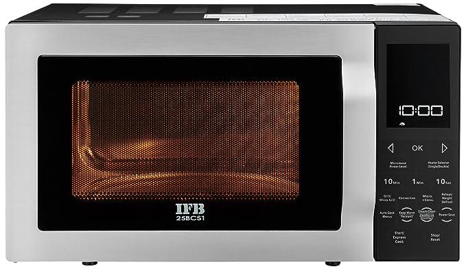 IFB 25 L Convection Microwave Oven (25BCS1, Black)