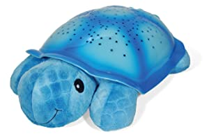 Cloud b Twilight Turtle Blue Night Light Soother