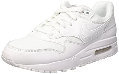 2542376a88e57 Amazon.com | NIKE Youths Air Max 1 Leather Trainers | Sneakers