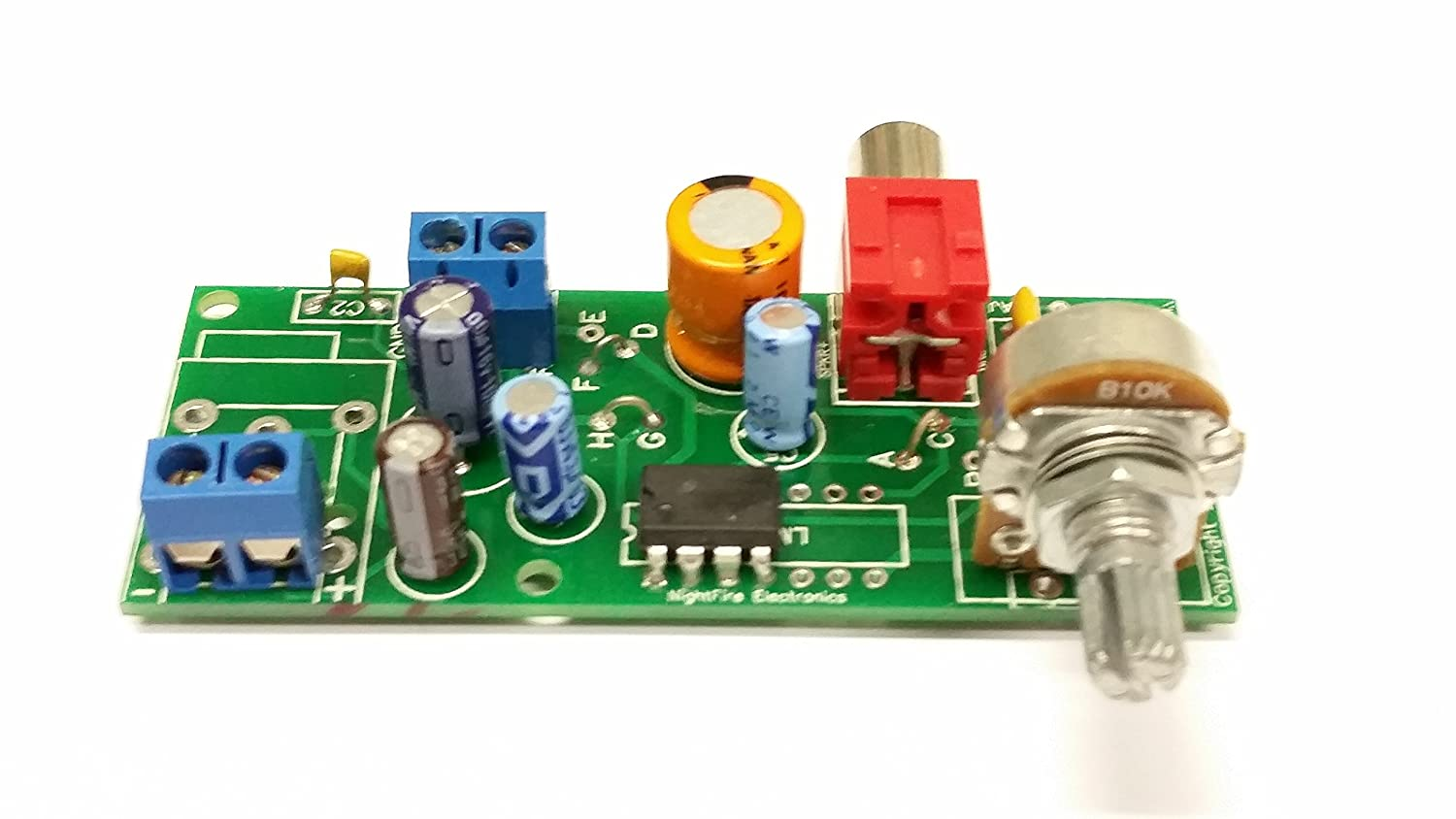 Lm380n 8 Audio Amplifier Kit 2 Pin In Rca Out Car Circuit Was Constructed With The Use Of Power Lm380 Electronics