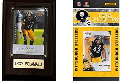 42a27fbb Amazon.com: NFL Pittsburgh Steelers Fan Pack: Sports & Outdoors