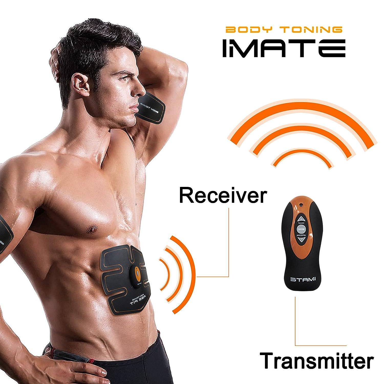 Smart cámara abdominales unisex cinturón de electroestimulación abdominal para deporte perdre del