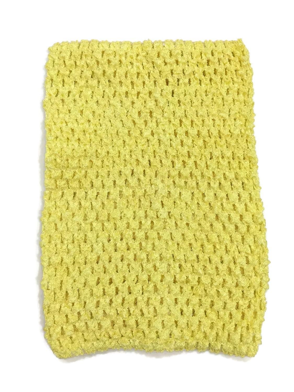 ラッシュダンスかぎ針編みチュチュフェアリープリンセスPettiskirt Halter Top One Size One Size イエロー B013GM2G4G