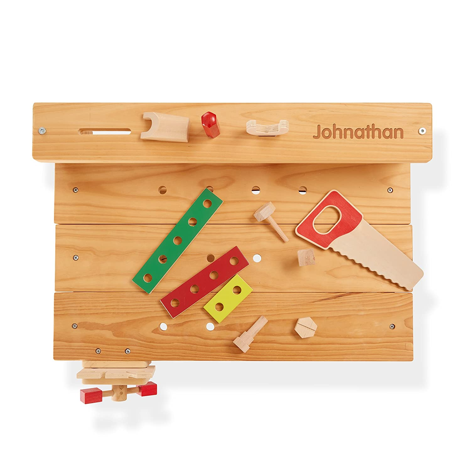 Melissa & Doug Solid Wood Project Workbench Play Building Set 2369