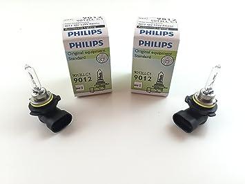 Philips 9012LL//HIR2 X 1 Bulbs 12V 55W Long Life Version High Performance Lamps