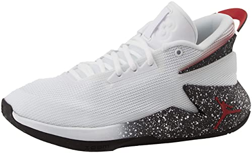 971ad806c2 Nike Jordan Fly Lockdown, Zapatos de Baloncesto para Hombre, Blanco  (White/Gym Red/Black 100), 42 EU: Amazon.es: Zapatos y complementos