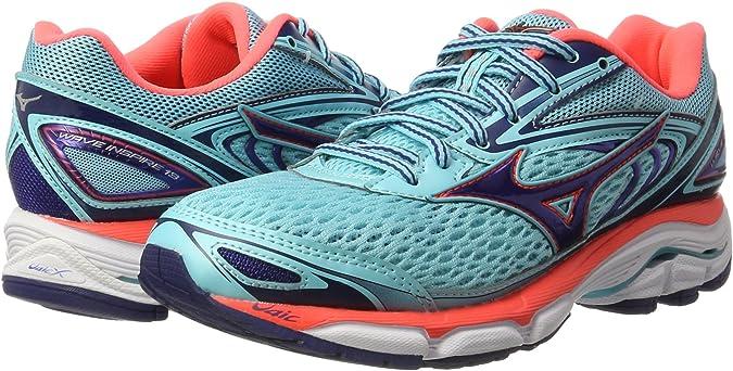 Mizuno Wave Inspire W, Zapatillas de Running para Mujer: Amazon.es ...