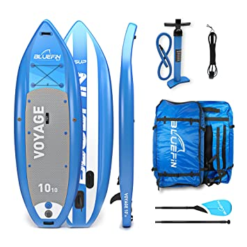 Bluefin Tabla de Stand Up Paddle Surf SUP Hinchable | Modelo Voyage de 1010