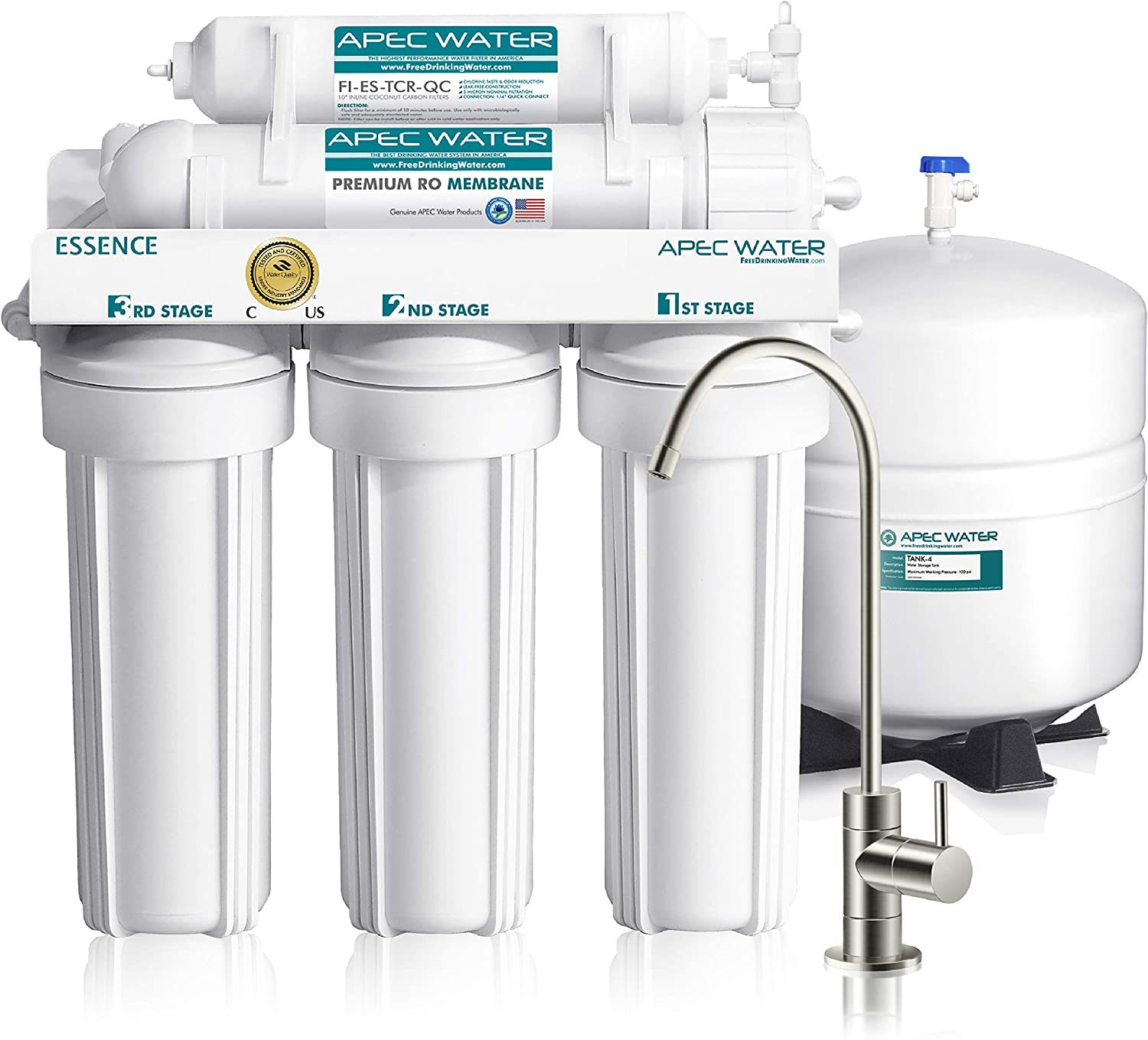 9 Best Reverse Osmosis Under Sink Water Filters 2021 - Updated List