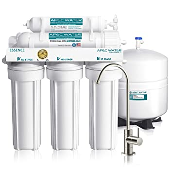 APEC Water System ROES-50 Essence Series Top Tier 5-Stage Water APEC Water System ROES-50 Essence Series Top Tier 5-Stage Water Purifier