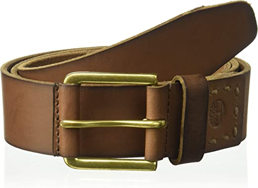 Timberland 40MM Retro Belt Brown 36 Mens Belt