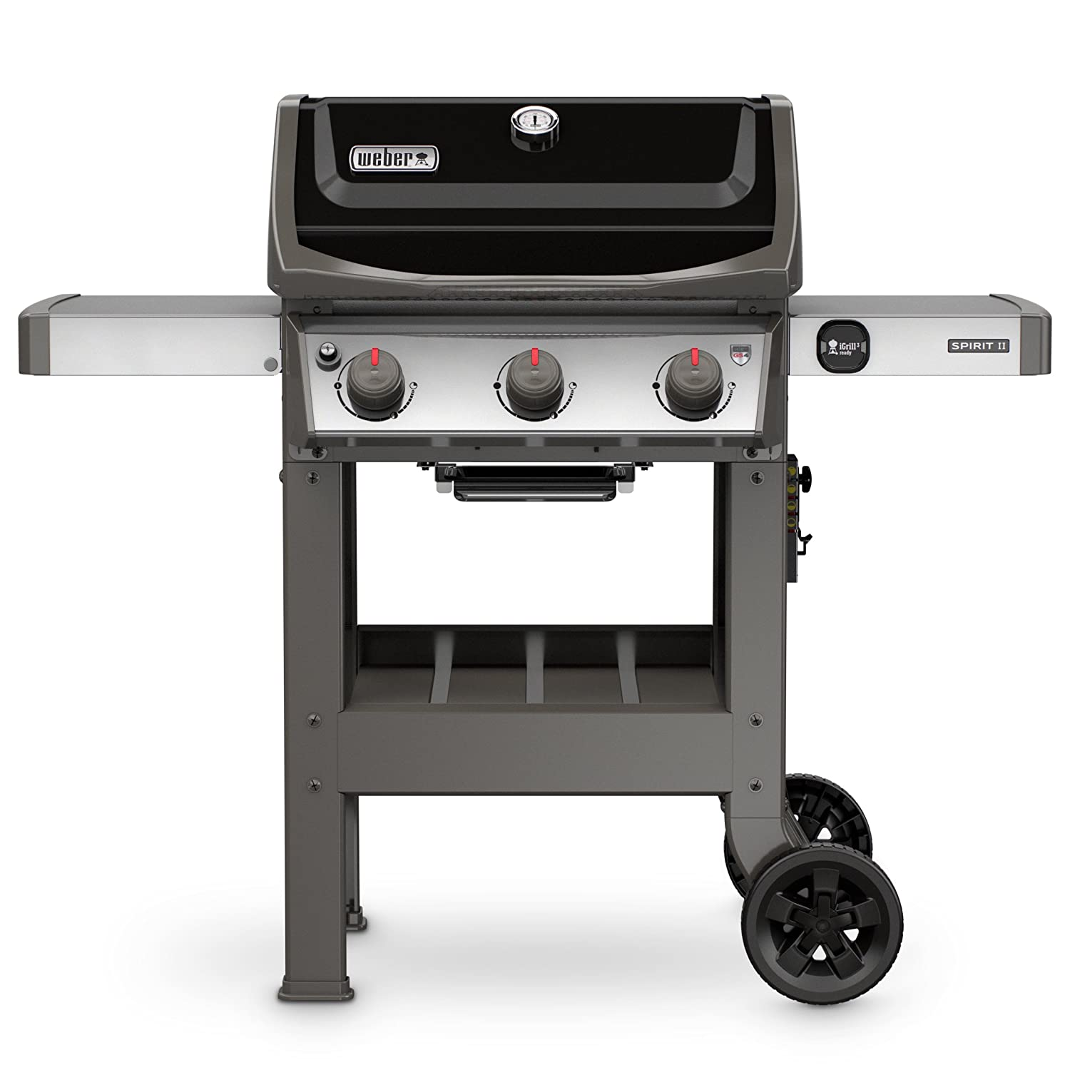 Weber 45010001 Spirit II E-310 Gas Grill LP Outdoor, Black