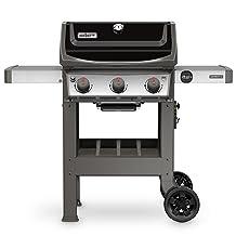 Weber 45010001 Spirit II E-310 Black LP Outdoor Gas Grill