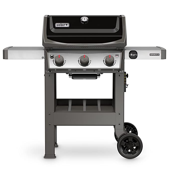Weber 45010001 Spirit II E-310 3-Burner Liquid Propane Grill – Best Infrared Family Grill
