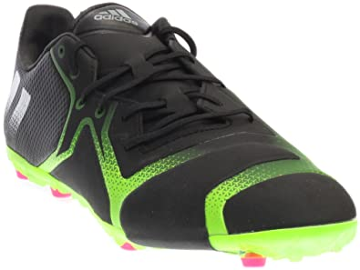 best website 2737e a7883 Amazon.com: Adidas ACE 16+ TKRZ (Black/Green) Soccer Cleats ...