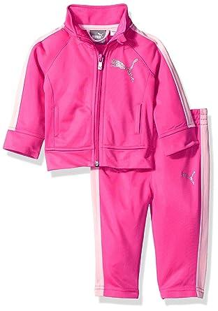 attraktiver Preis Für Original auswählen guter Service Puma Baby - Mädchen Trainingsanzug - rosa -: Amazon.de ...