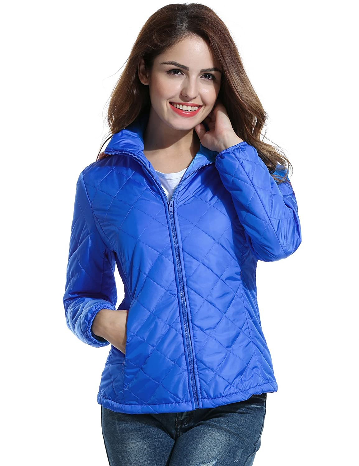 Meaneor Women's Lightweight Packable Short Down Jackets