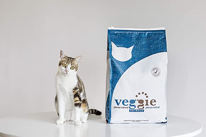 VeggieAnimals Pienso 100% Vegetal para Gatos 5kg: Amazon.es: Productos para mascotas