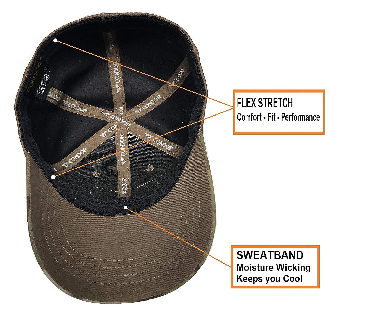 Condor Flex Tactical Cap (Multicam, L/XL) + Libre PVC Bandera ...