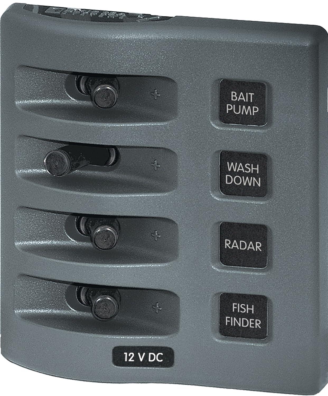 amazon com blue sea systems weatherdeck 12v dc 2 position circuit rh amazon com