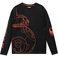Star Wars - Camiseta de Mangas largas para niño BB8