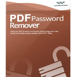 Wondershare PDF Password Remover-Remove PDF Password in a Second [Download]