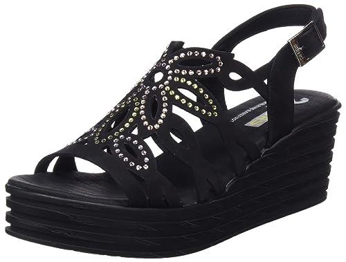 24 HORAS 23619, Sandalias con Plataforma para Mujer: Amazon.es: Zapatos y complementos