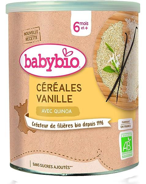 Babybio Cereales Vainilla, Pack of 3 x 220 gr (total 660gr): Amazon.es: Alimentación y bebidas