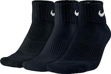 Nike 3PPK Cushion Quarter, Calcetines unisex, paquete de 3 unidades: Nike: Amazon.es: Deportes y aire libre
