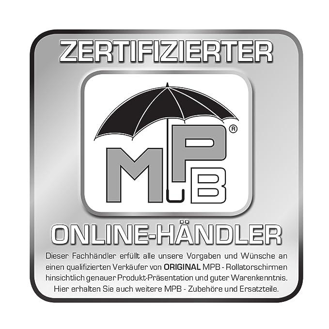MPB® Andador pantalla Mono Modelo 85, Andador pantalla negro, con ...
