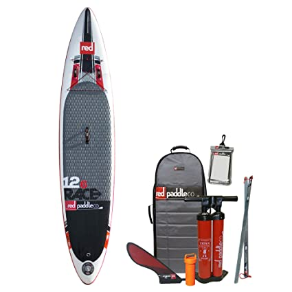 "Red Paddle Co Race 126"" x 28"" Tablas Paddle Surf hinchables,"
