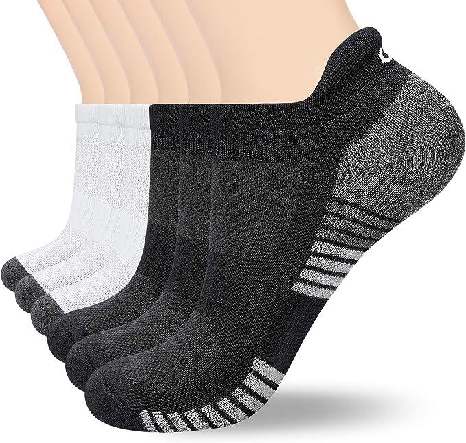 coskefy Calcetines Cortos para Hombre y Mujer 6 Pares Calcetines ...