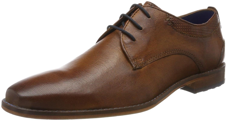 TALLA 40 EU. Bugatti 312418011100, Zapatos de Cordones Derby para Hombre