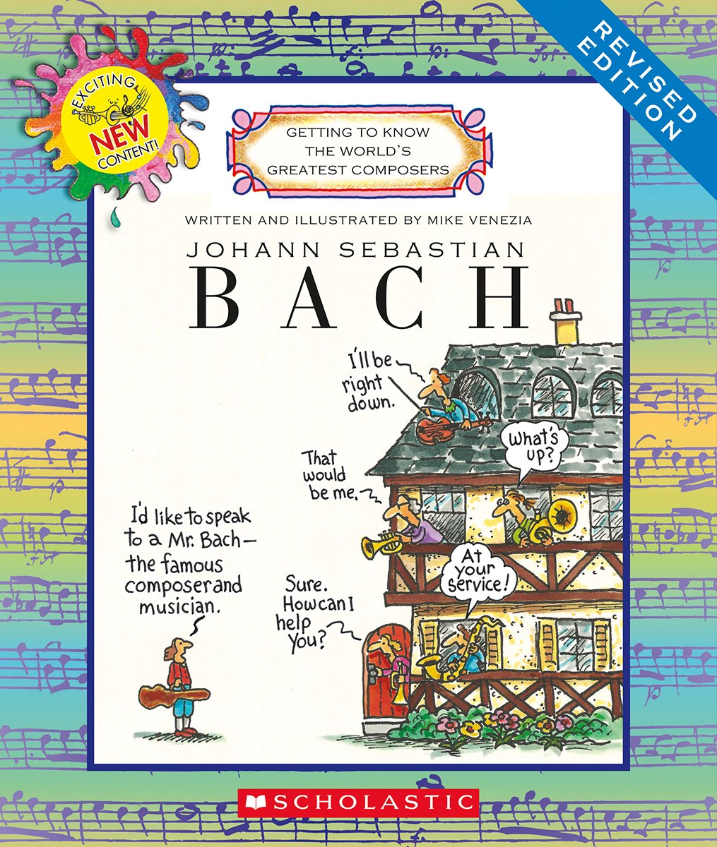 Read Online Johann Sebastian Bach (Getting to Know the World's Greatest Composers) pdf