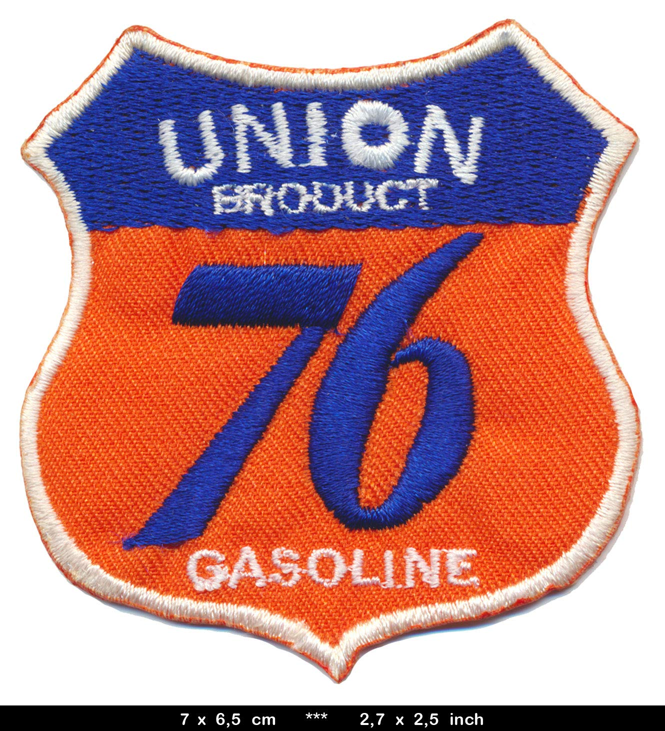 Royal Garment 76 Gasoline Patch Aufn/äher Racing Oil Motor/öl Motorsport USA