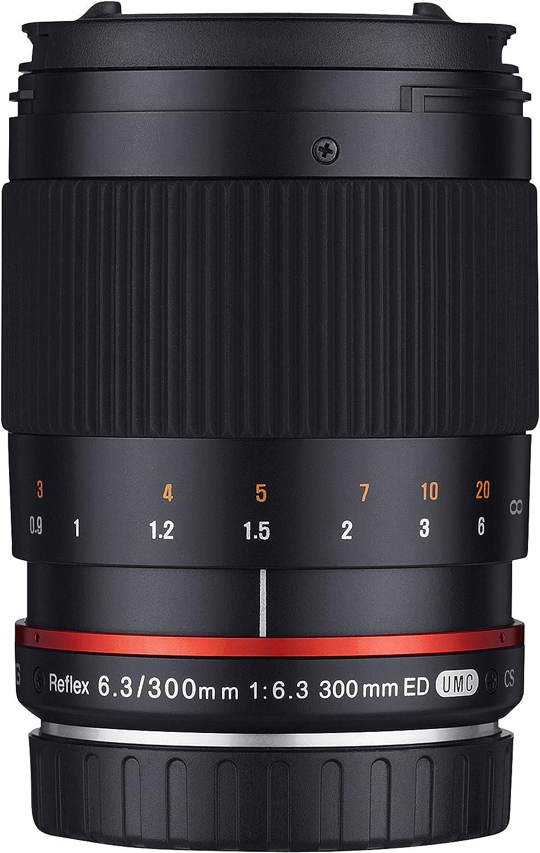 Samyang 300mm F6 3 Objektiv Für Anschluss Sony E Kamera