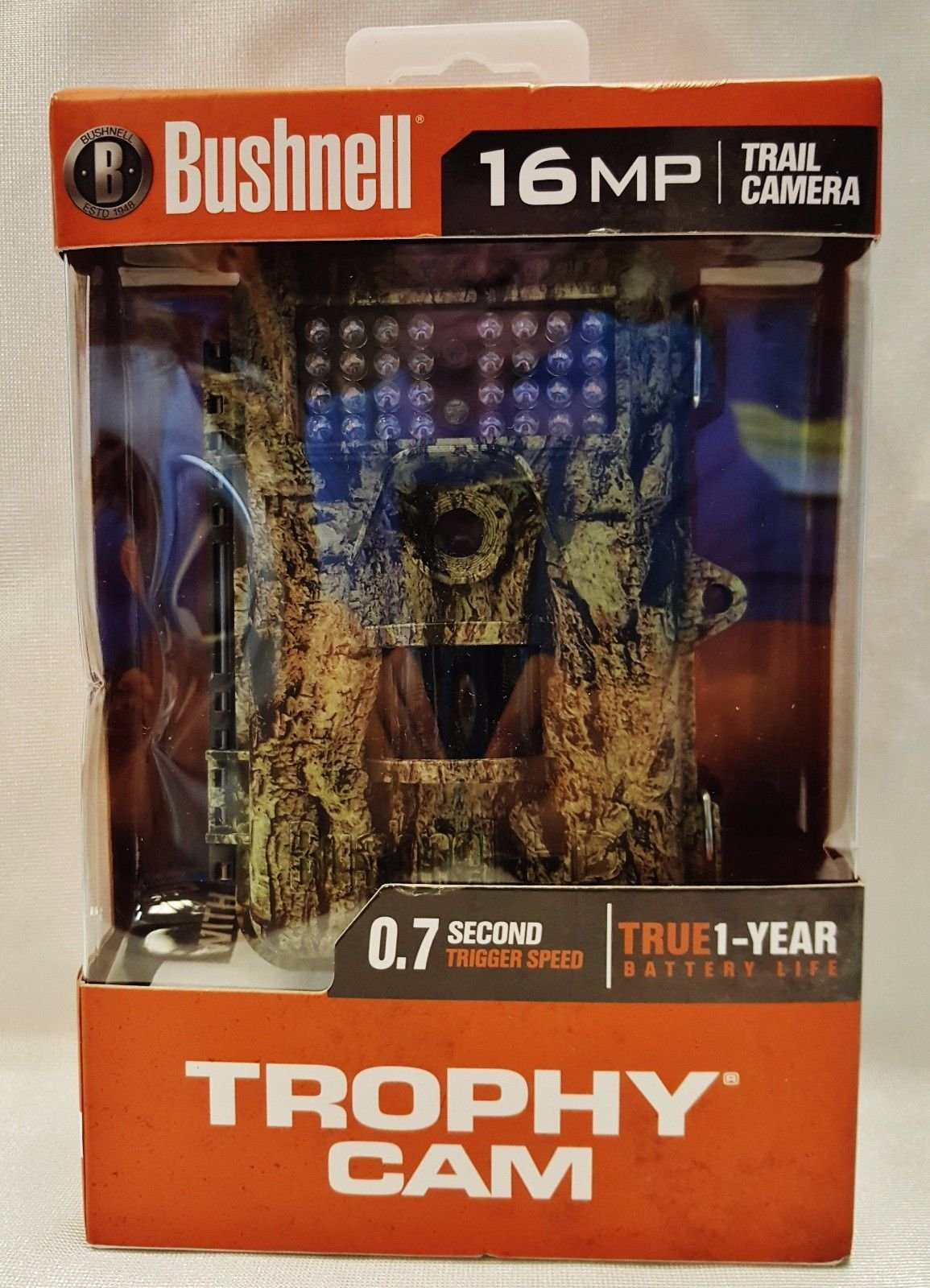 Bushnell 119716cw 16mp Trophy Cam Low Glow Trail Camera