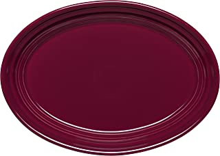 product image for Fiesta 9-5/8-Inch Oval Platter, Claret